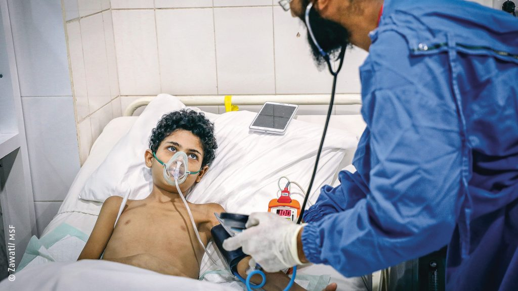 Yémen : Plus de 90 000 blessés de guerre traités