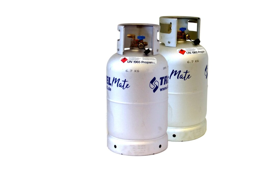 ALUGAS Travel Mate Tank cylinders with TÜV until 2030