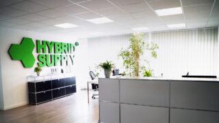 Réception du bureau HybridSupply à la Stellmacherstraße 9, DE-23556 Lübeck