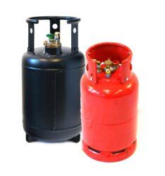 Stahlgasflasche
