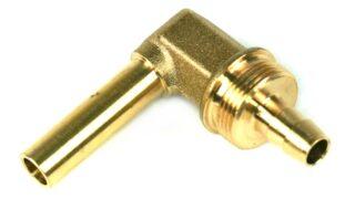 DREHMEISTER Coude 90° Raccord de tuyau 8mm pour tuyau thermoplastique 8mm