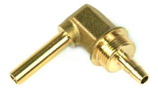 DREHMEISTER Coude 90° Raccord de tuyau 6mm pour tuyau thermoplastique 6mm