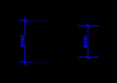 DREHMEISTER écrou-raccord M14x1 pour tuyau thermoplastique 6mm