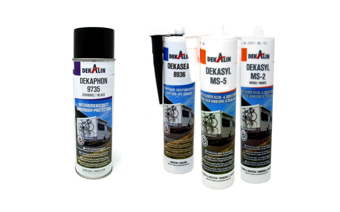 Dekalin matériau de scellement, l'adhésif et le revêtement de dessous sont disponibles dès maintenant