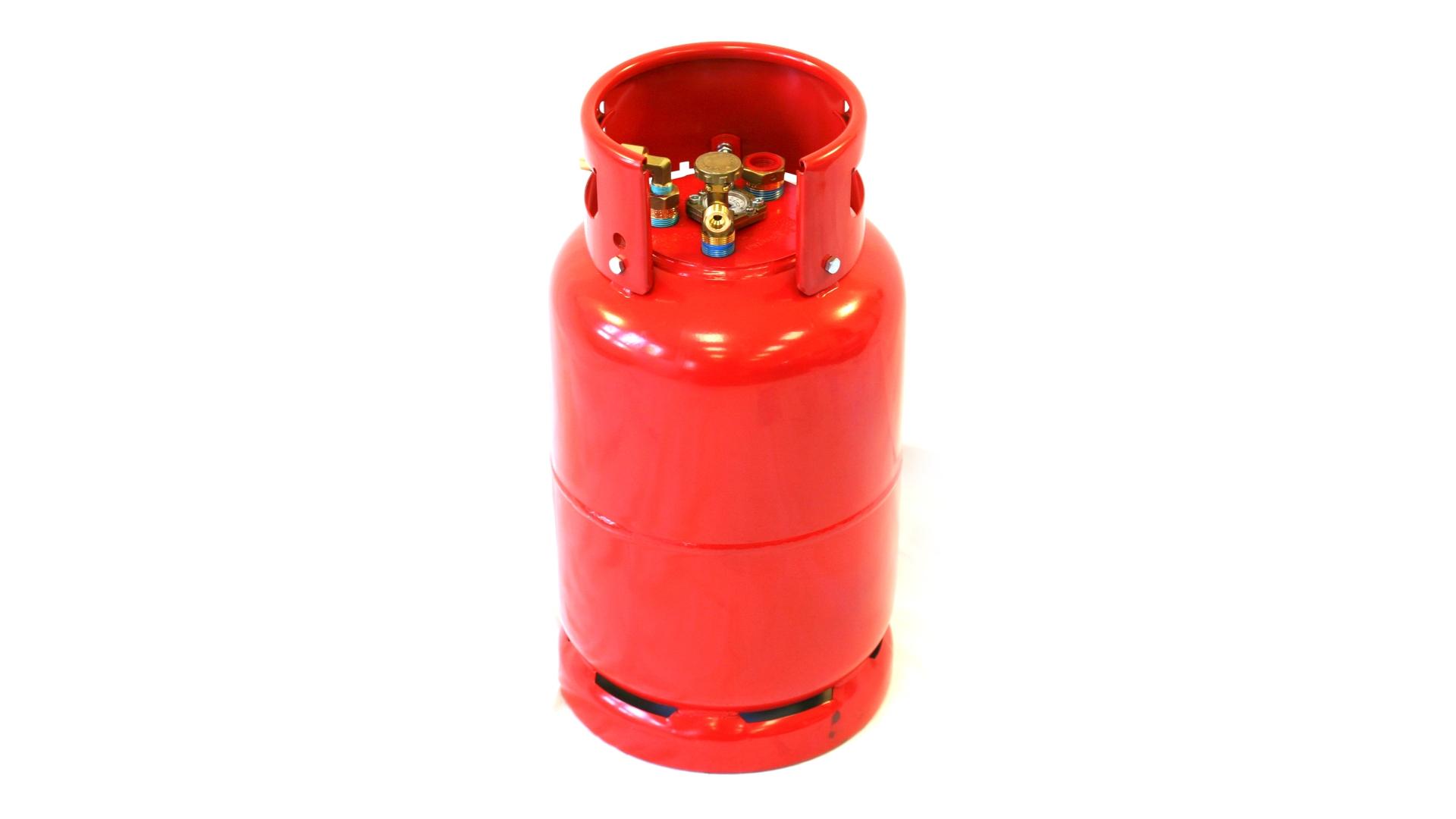 GZWM bouteille réservoir 36 litres avec vanne à 3 points