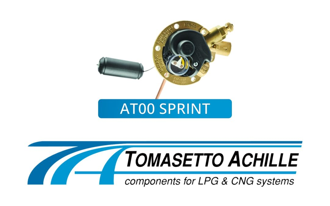Maintenant disponible : Tomasetto AT00 SPRINT Polyvannes