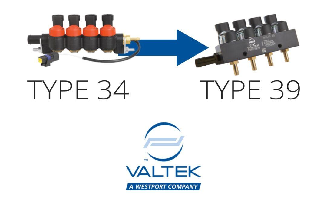 Le rail GPL/GNV Valtek 39 remplace le Valtek 34