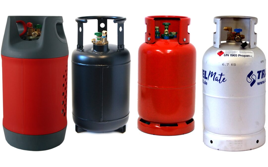 Bouteilles de gaz rechargeables