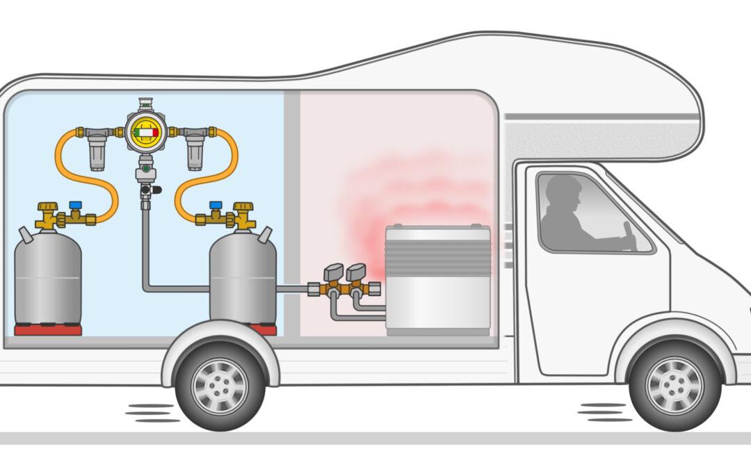 GOK capteur de choc  régulateur de pression  – Chauffer pendant le trajet