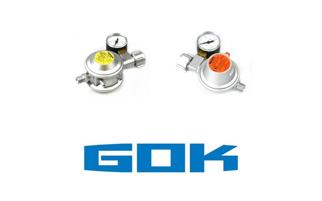 Catalogues de produits GOK et informations techniques dans la zone de téléchargement
