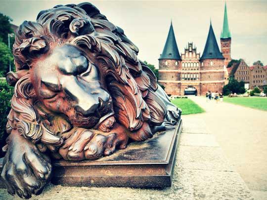 L'Holstentor de Lübeck