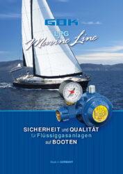 Solutions pour le gaz liquide sur les bateaux - MarineLine (Allemand)