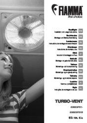 Instructions de montage et d'utilisation  TURBO VENT