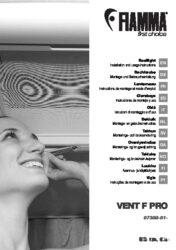 Instructions de montage et d'utilisation Lanterneau VENT F PRO