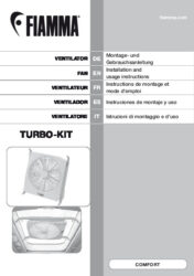 Instructions de montage et d'utilisation Turbo Kit