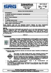 Instructions d'installation du  SRG-affichage à distance