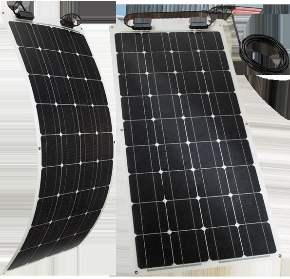 TELECO TSPF 110W – Le module solaire flexible pour les camping-cars, les caravanes et les campeurs
