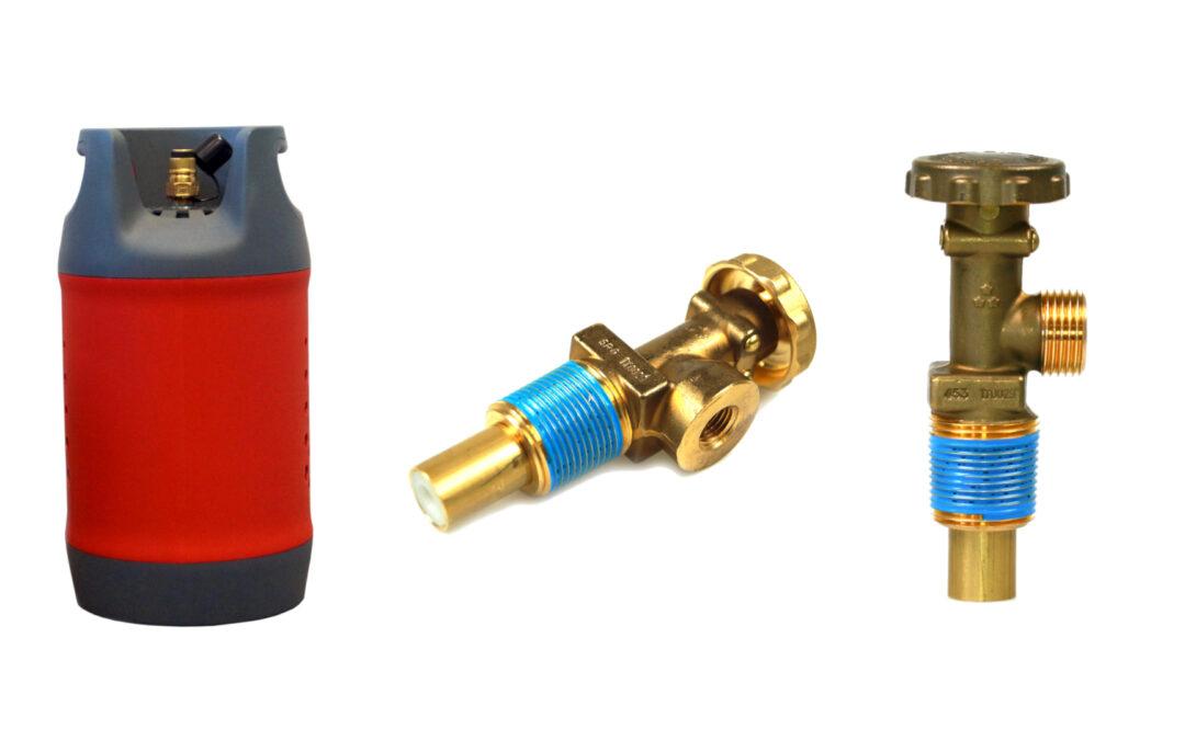 Aperçu des types de vannes disponibles dans le monde entier pour les bouteilles de gaz